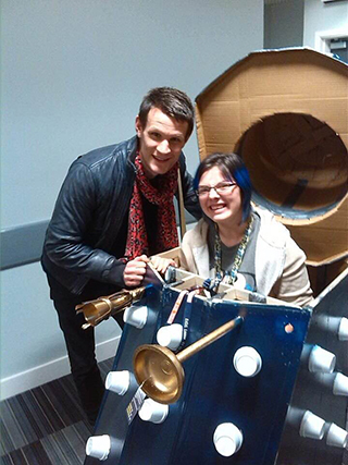 Lottie met Dr Who after a claim for clinical negligence