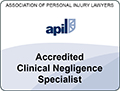apil accredited clinical negligence specialist