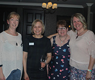 4 women at Barratts Solicitors 25th Anniversary