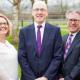 Barratts partners in garden Nottingham office