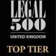 Legal 500 top tier 2021